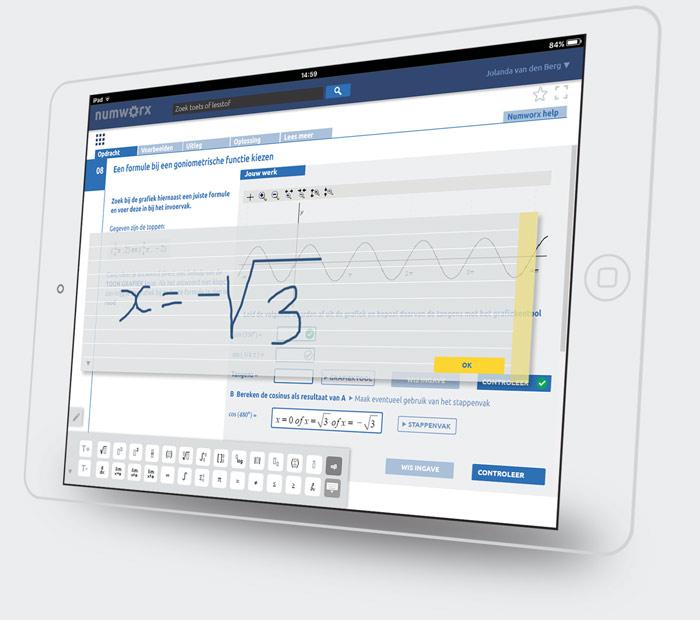 iPad handwriting