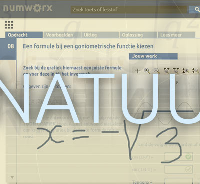 Natuurlijk wiskunde leren met Numworx op NVvW studiedag 2018