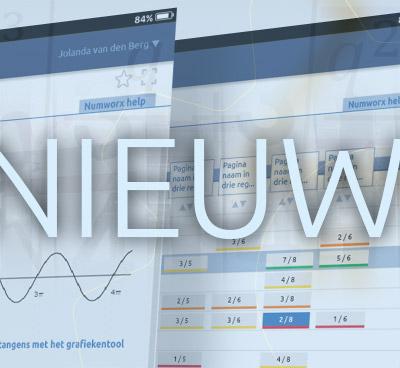 Numworx versies Docent en Student geïntegreerd
